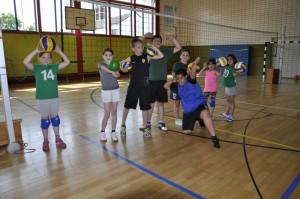 Darstellung vom Volleyball